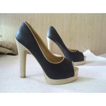 Zapatos Fiesta Noche Negro N 38 ...estilo Vintage