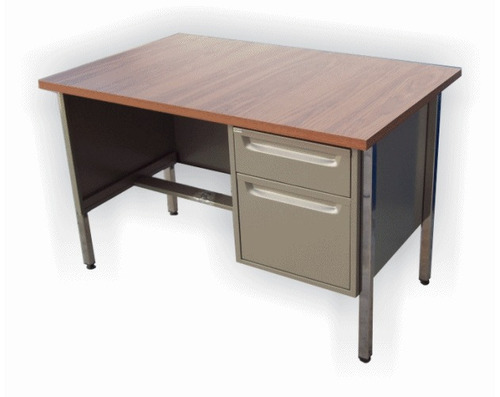Escritorio secretarial 70 x con cajones metalico for Escritorios para oficina dimensiones