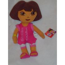 Dora La Exploradora Con Vestido Original 30 Cms