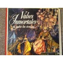 Disco Acetato De: Valses Inmortales 6 Discos