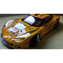 Bolha Kyosho Inferno Gt2 Corvette C6 1/8 Original Com Farol
