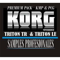 Korg Tr & Triton Le, Samples Profesionales (manual En Video)