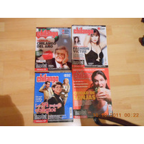 Lote De 4 Revistas Chilango
