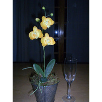 Arreglo Floral Con Orquideas