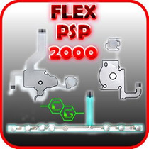 Flex Membrana De Bus Para Psp Slim 2000, 2001, 2010 Etc