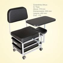 Cadeira Manicure Luxo, Cirandinha Manicure Com Tripé