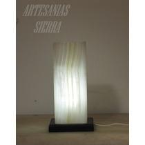 2 Lámparas De Onix 11.5x11.5x30 Cms Altura Envío Gratis