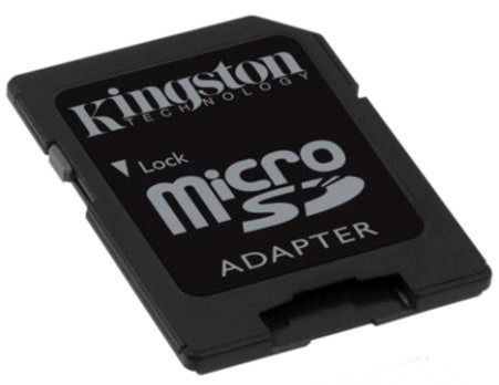 adaptadores para tarjetas de memoria