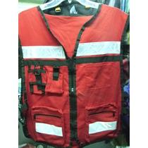 Chaleco Verde Limon Paramedico Rescate Ambulancia Rescatista