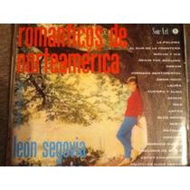 Disco Acetato De: Romanticos De Norteamerica