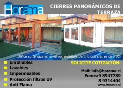 Toldos, Cierres Panoramicos Para Terrazas, Tela Pvc - $ 17.950 en ...