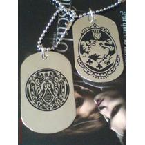Placa Dogtag Escudo Cullen Y Tatto Quileute Twilight/eclipse
