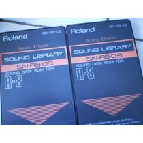 Tarjetas De Roland Sn R8 02 A 09 Bateria Total Percussion