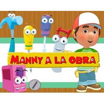 Kit Imprimible Handy Manny Diseñá Tarjetas , Cumples Y Mas