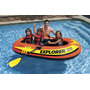 Bote Inflable Intex Explorer 300 195kg Sin Remos Ypt