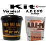 Kit Champion Vermisal1,110kg, Ade Pó 500gr