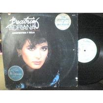 Disco Lp De Acetato Beatriz Adriana, Arrepentida Y Sola