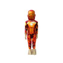 Fantasia Infantil Homem De Ferro 3 C/ Máscara Tam. P