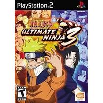 Naruto Ultimate Ninja 3 Ps2 Patch - Promoção!!!