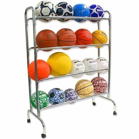 Rack Estante Organizador 16 Balones Pelotas Bsn Sports -   1 15ade80388e9