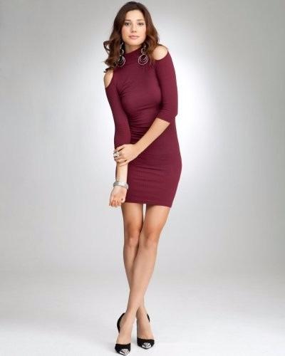 5b586ea00 vestidos color concho de vino