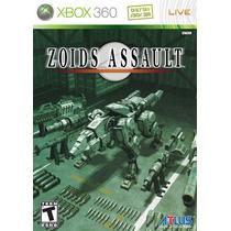 Jogo Novo Lacrado Zoids Assault Para Xbox 360
