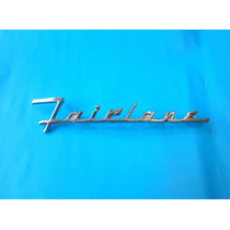 Emblema Ford Fairlane Para Cofre 1955-1956 Victoria