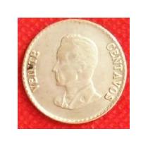 20 Centavos 1953 Plata Colombia Simón Bolívar - Hm4