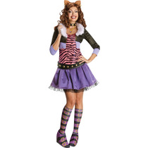 Disfraz Peluca Monster High Adulto Mujer Draculaura Frankie