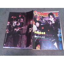 Poster De La Revista Conecte Motley Crue Y Beatles