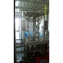 Llenadora Automática De Garrafones En Ac. Inox. 122000