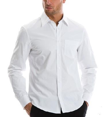 JacobEdward Camisas Blancas Masculino 2017 Verano Casual