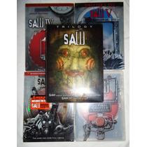 Saw Paquete De Las 7 Películas Importadas Dvd + Mascara