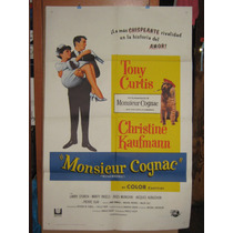 Tony Curtis, Monsieur Cognac (wild And Wonderful Poster