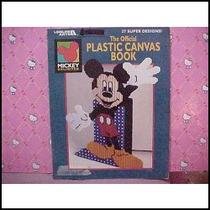 Mickey Mouse Oficial Libro Manualidades De Plastico Fiestas