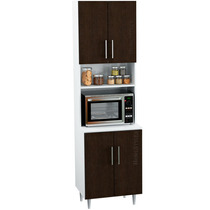 Organizador Porta Microondas P/cocina C/4 Puertas Kp100 Weng