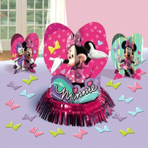 Kit Para Decorar Mesas Minnie Mouse