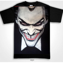 Playera Guason Joker Aerografia Batman