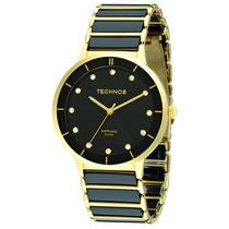 Relógio Technos Cerâmica Vidro Safira 2036lmq/4p - 50 Metros