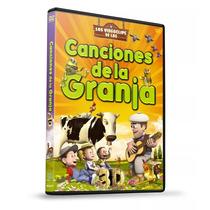 Dvd Canciones De La Granja 3d Volumen 1