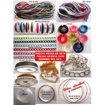 Kit Material Joyeria Bisuteria Oferta Para Collares Pulseras