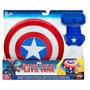 Escudo Y Guante Magnético Capitan América Civil War Hasbro