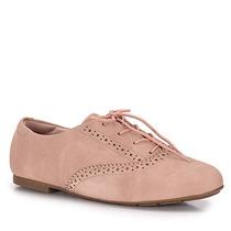 Sapato Oxford Feminino Modare - Nude