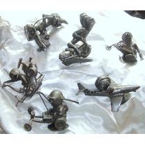 Marx Plastimarx Colección De 6 Figuras Nutty Mads Serie4 Vbf