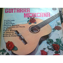 Disco Acetato De Guitarra Mexicana