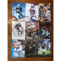 9 Tarj De Cowboys Runningbacks Lote 3, M Barber,