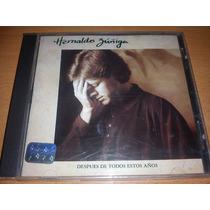 Hernaldo Zuñiga Cd Album Muy Raro Del Año 1992