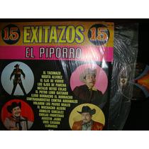Eulalio Gonzalez El Piporro - Lp De 12 15 Exitazos