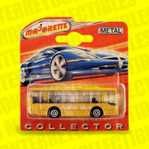 Aero Bus Majorette Tipo Hot Wheels
