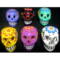 Figura Calavera Chico Dia De Muertos Halloween 6 Mod 4.5 Cm